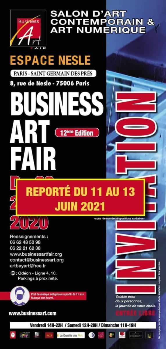 Business Art Fair - report juin